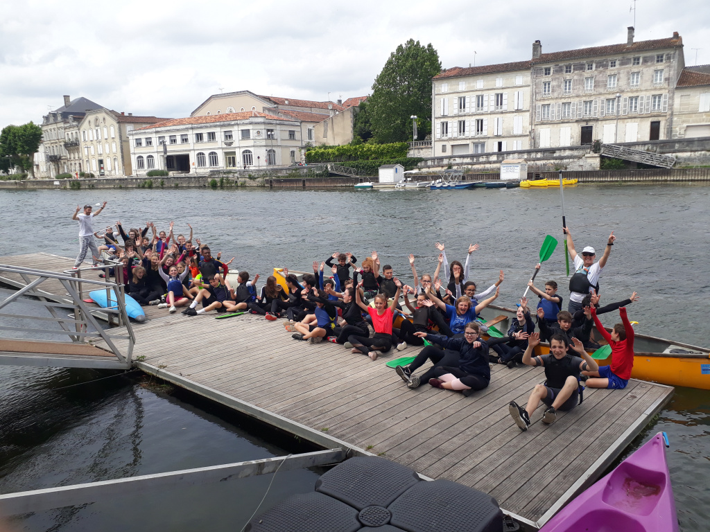 classe kayak 4ème
